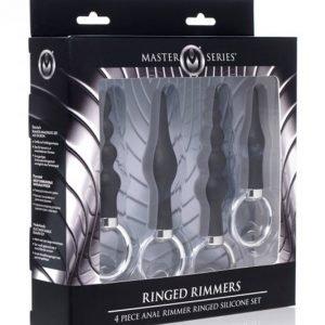 Anal Ringed Rimmer Set