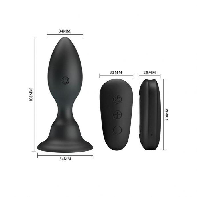 Analplug mit Vibration Classic