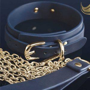 Bondage Couture Halsband & Leine