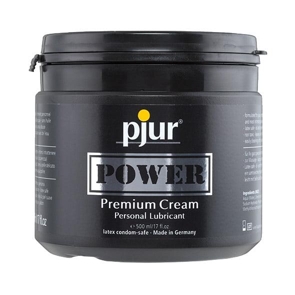 pjur POWER premium cream - 500 ml