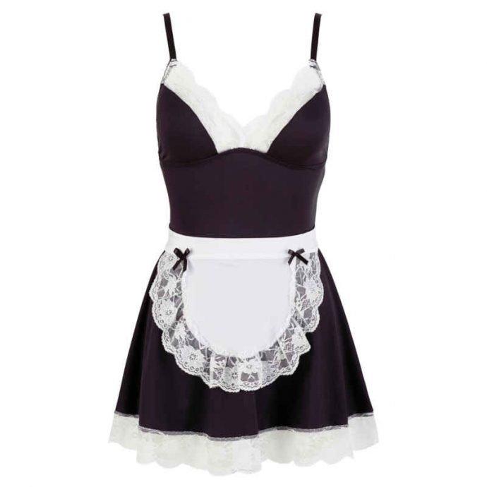 Minikleid French Maid