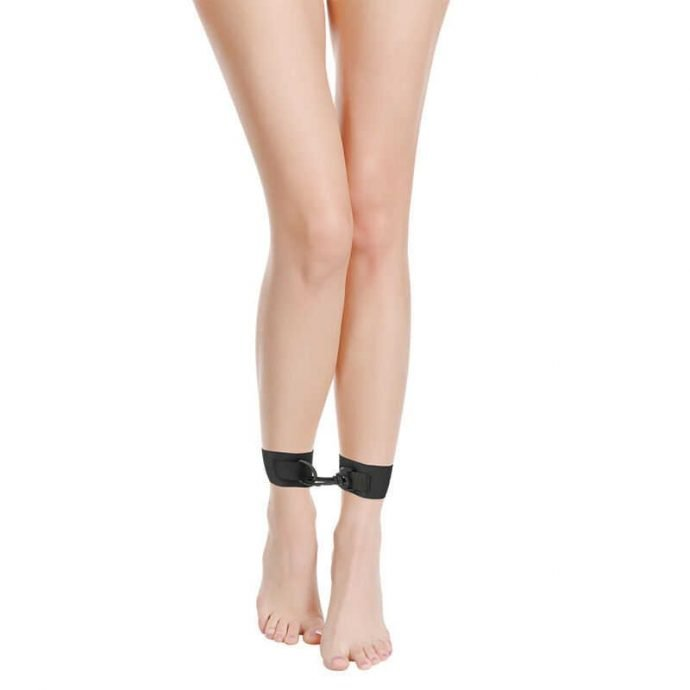 Fußfesseln Nylon Schwarz