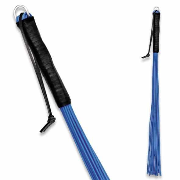 Peitsche aus PVC - 24 Riemen