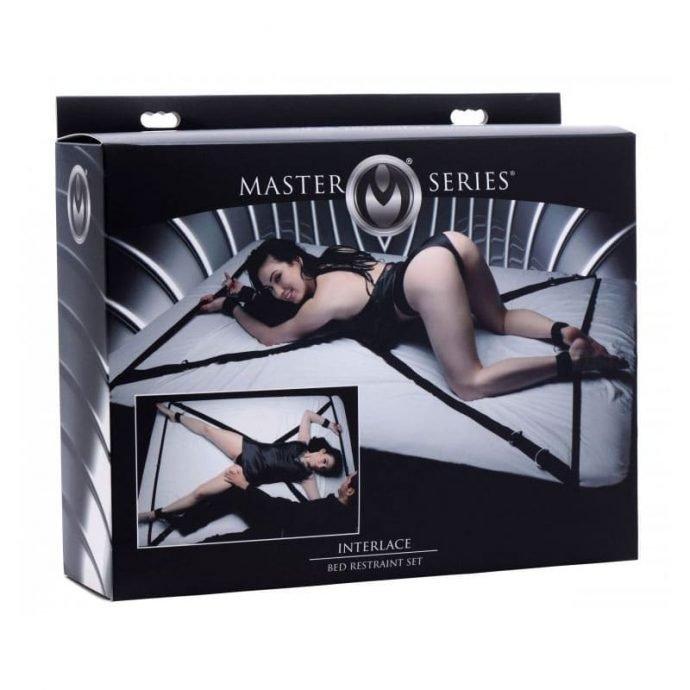Bett Bondage-Set - Interlace