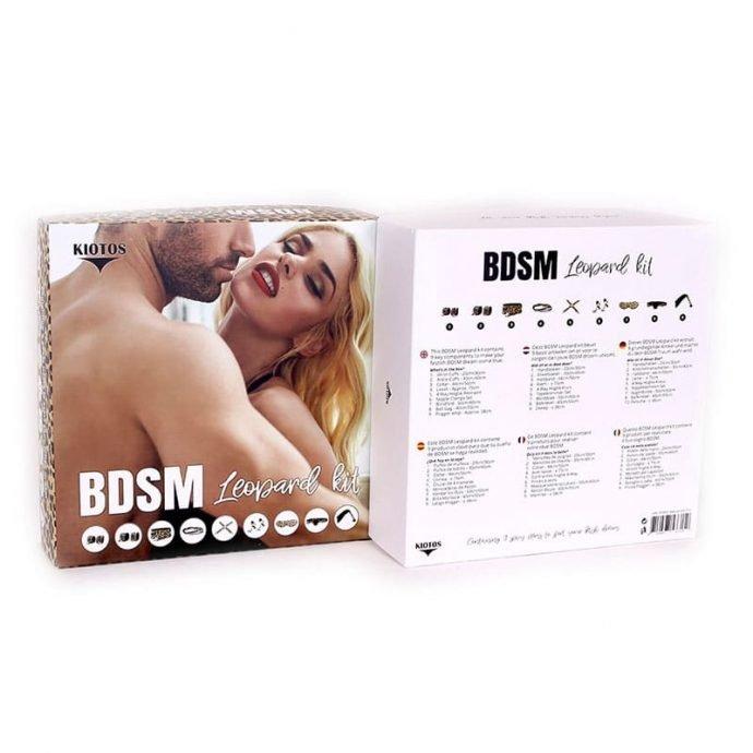 BDSM Bondage Set Leopard Kit