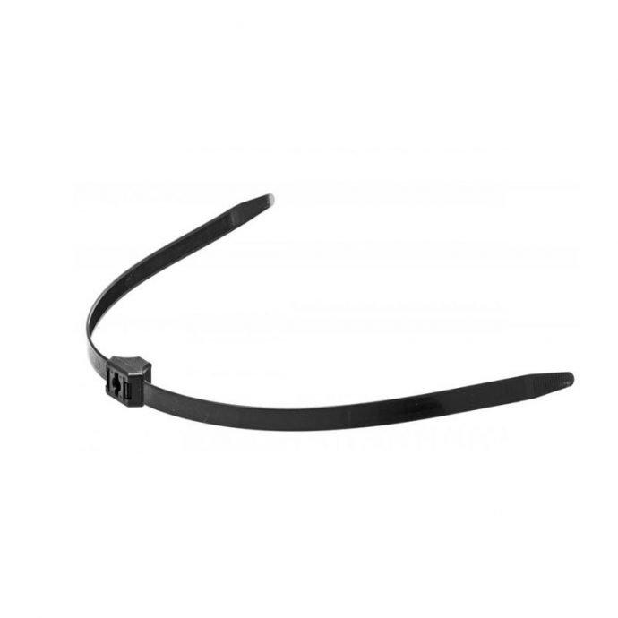 Black Zip Tie - Polizeifesseln