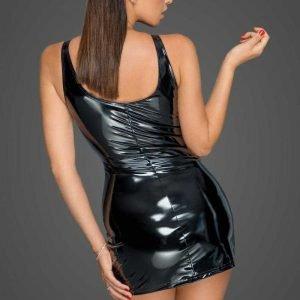 PVC Kleid mit 2-Wege Zipper