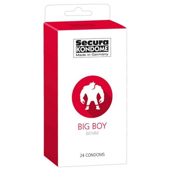 Secura Bigboy Kondome 12 24 100