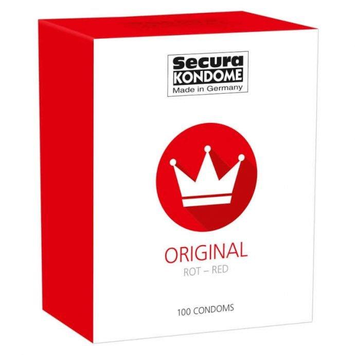 Secura Original Red Kondome  12|24|100|1000