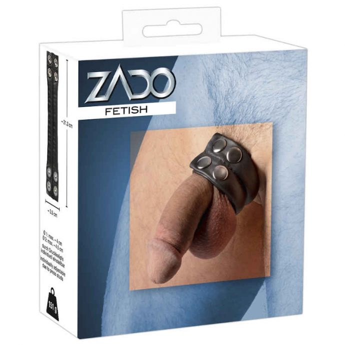 ZADO Penisring aus Leder