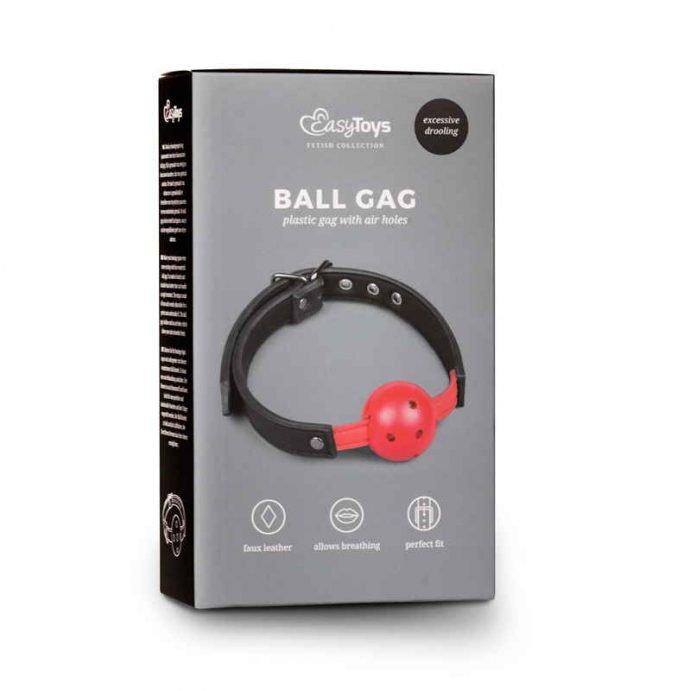 Ballknebel mit PVC-Ball