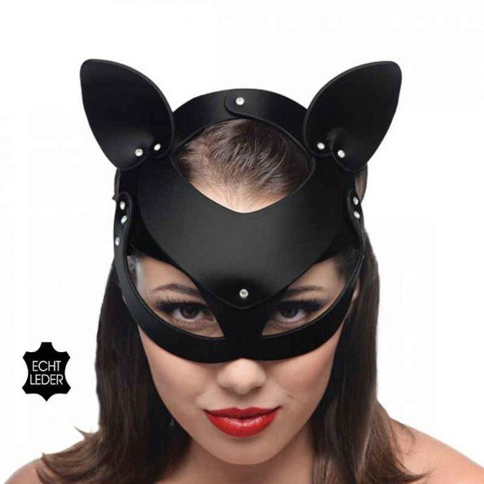 Bad Kitten - Katzenmaske Leder