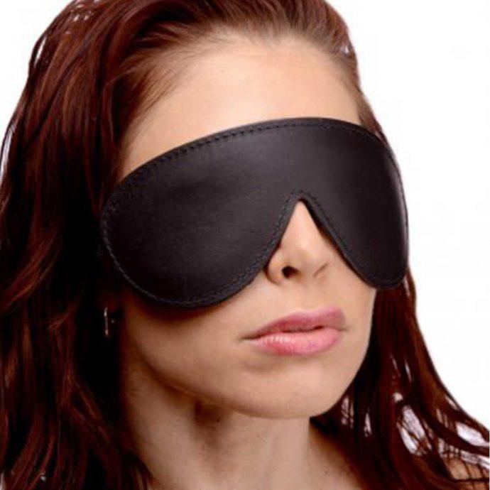 Weich gepolsterte Augenbinde