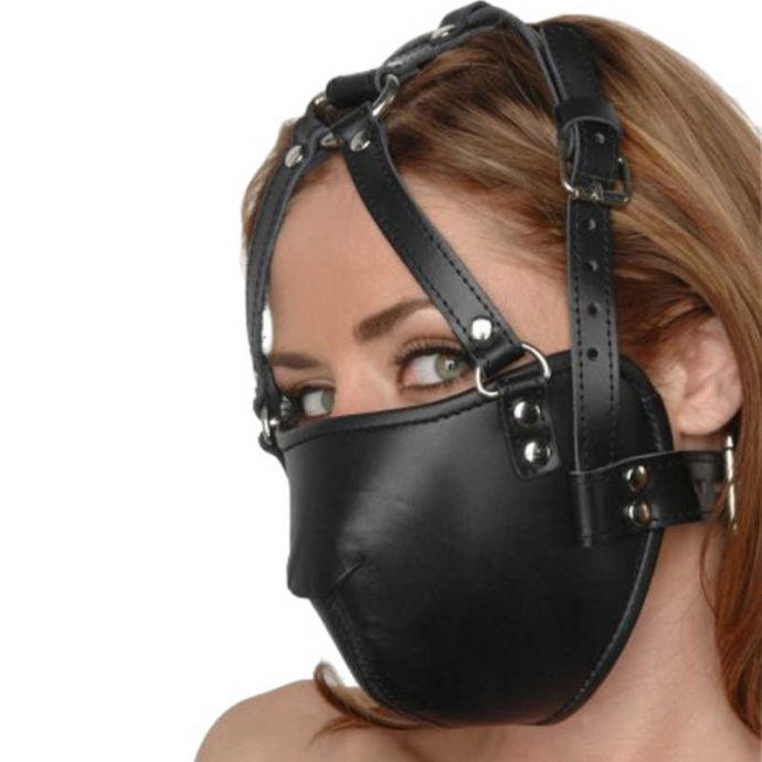 Kopf-Harness aus Leder