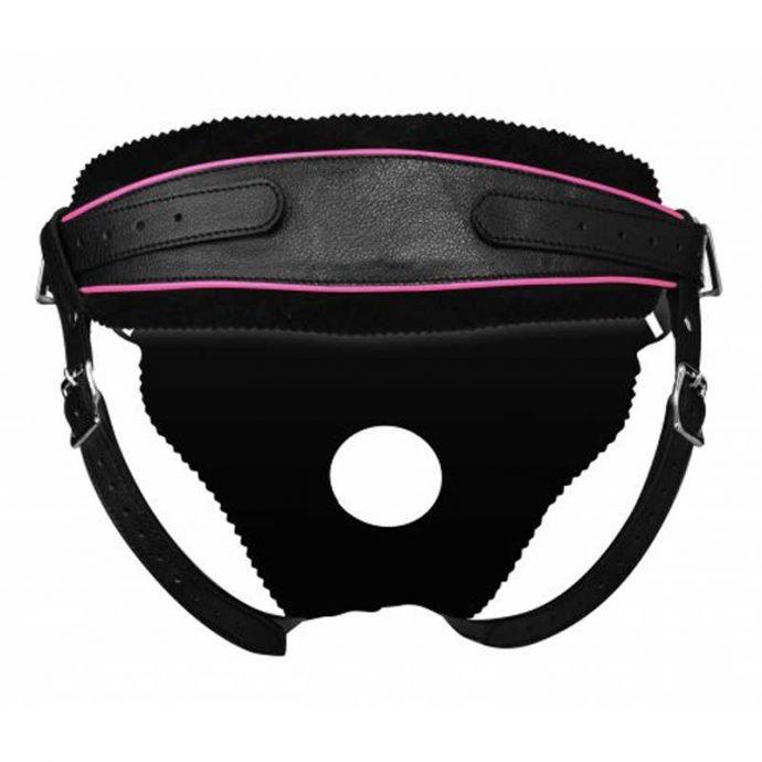 Strap-On-Harness mit Dildoring