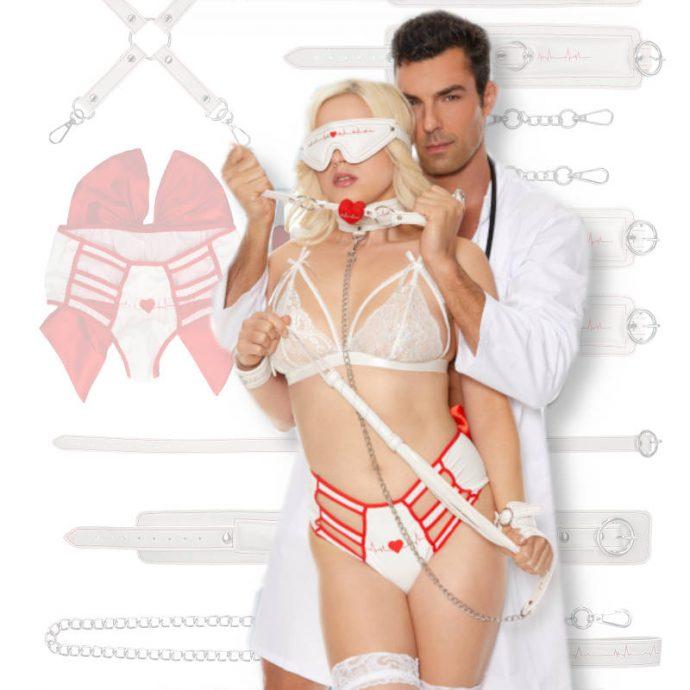 Bondage Set Krankenschwester