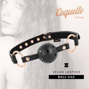 Ball Gag veganes Leder